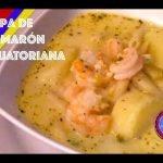 Sopa de Camarón a la Ecuatoriana⎜cocinando con mami Sofi