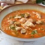 Sopa de pescado casera y fácil TE ENCANTARÁ