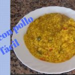 arroz con pollo receta (fácil )/cómo hacer arroz con pollo facil