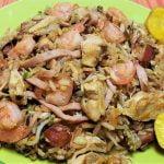 como hacer arroz chino casero con carnes y camarones - Arroz chino casero fácil de hacer