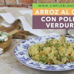 ARROZ AL CURRY CON POLLO Y VERDURAS | Arroz con pollo al curry | Arroz con verdura