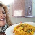 ARROZ CON POLLO ESPAÑOL receta facil rapida y economica,rica rica
