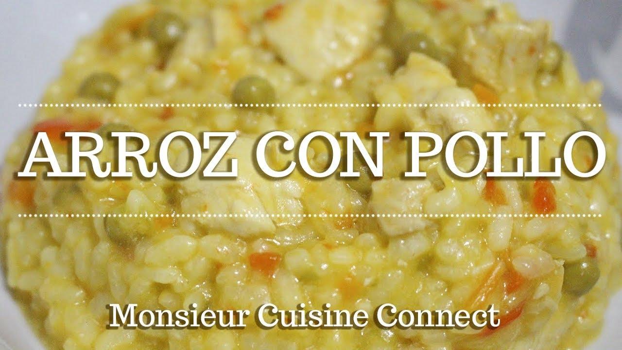 ARROZ CON POLLO en Monsieur Cuisine Connect | Ingredientes entre dientes