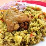 Aprende a preparar arroz con pollo peruano • Receta casera • Peruvian food