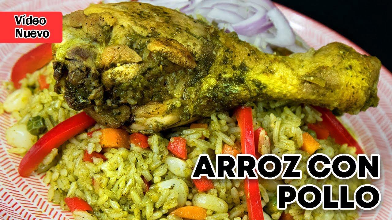 Arroz con pollo   Sabores del Perú