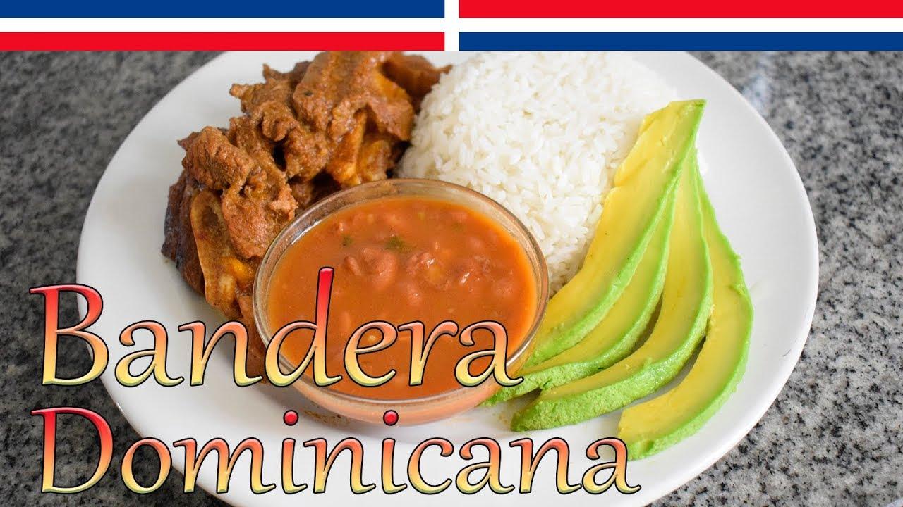 Bandera Dominicana Completa Paso a Paso (Carne, Arroz y Habichuelas ) - Cocinando con Yolanda