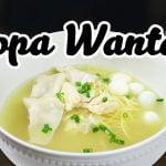 Cómo aprender a cocinar Sopa Wantán | Sabores del Perú