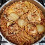 Cómo hacer arroz con pollo | Receta de pollo y arroz al estilo mexicano | Una idea de comida de pan