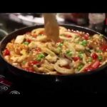 Chef NTI cooking a tasty Seafood Paella with ACE Quick Cook Samp