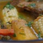 Como preparar una sopa de costilla de res