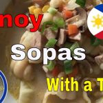 HOW TO COOK pinoy sopas | with a twist