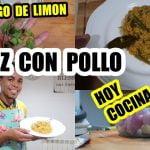 HOY COCINA MI MARIDO/ARROZ CON POLLO Y VERDURAS/RECETA
