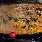 La mejor comida callejera | Paella española | Mariscos | Comida callejera de Londres | HABITANTE DE ALIMENTOS