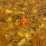 La sopa de verduras y carne es la más sabrosa y sabrosa que he probado en mi vida - Josi's Recipes
