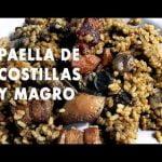 PAELLA DE COSTILLAS Y MAGRO  Casa Arturos Paellas y Arroces (ArturG)