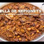 PAELLA DE SEPIONETS Restaurante Son de Mar Benidorm  (ArturG)