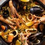 PAELLA con mariscos: ¿cómo hacerlo? Mi version! | Pascal Brodnicki