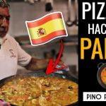 PIZZERO hace una PAELLA | Pino Prestanizzi