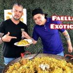 Paella Exotica Hecha con Carnes Espaciales