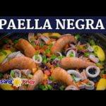 Paella Negra (Arroz Negre o Paella Negra)