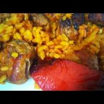Paella con costillas de cerdo | muy fácil | Arroz y costillejas