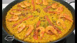 Paella mixta al estilo de la marina alta de Alicante