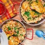 Receta: Arroz con pollo   Cocineros Mexicanos