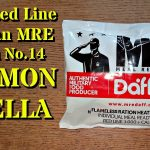 Revisión de MRE: Daff Red Line Civil - Ración de 12 horas - Salmon Paella