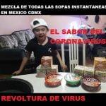 SOPAS INSTANTANEAS A QUE SABEN JUNTAS Y CORONAVIRUS EN MEXICO covid 19 desde un punto INFANTIL