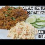 Arroz Con Pollo De Trinidad (Trini Pelau) Con Ensalada De Col   Receta Facil   Comida de Trinidad