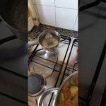 Arroz con verduras y fidel y pollo 😋😋😋