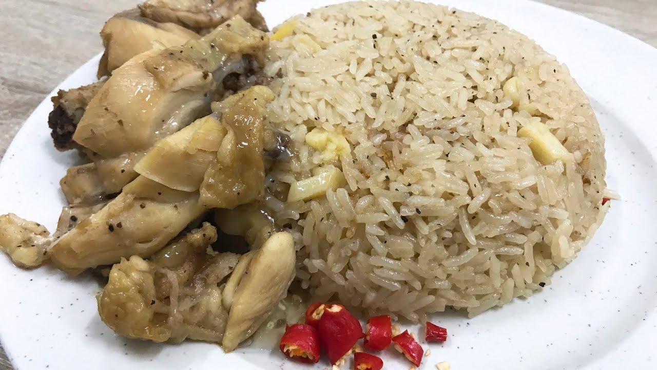 Arroz de pollo casero - Cocinar cucharada de comida