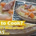 Cómo cocinar las sopas de macarrones con pollo filipino | Receta de sopa de pollo y macarrones | Sopas de pollo y macarrones