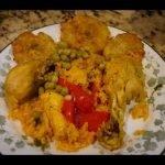 Cómo hacer arroz con pollo a la chorrera