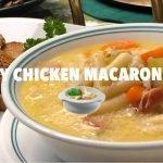 CREAMY CHICKEN MACARONI SOUP   CREAMY CHICKEN SOPAS   kaARTehan by Jo ❤️