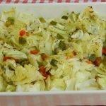 Cómo hacer repollo asado receta casera saludable, económica y muy fácil