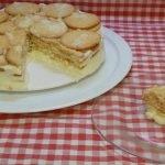 Cómo hacer una tarta fría de piña y galletas muy cremosa Receta casera muy fácil y deliciosa
