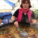 Comida Callejera Increíble - Sopa de Sangre Coagulada en un Mercadillo de Corea