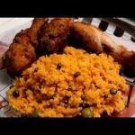 Como Preparar Arroz Con Gandules Y Pollo Frito||La Vida Con Mayra