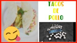 Como hacer Tacos de Pollo | Recetas con pollo fáciles