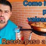 Como hacer paella valenciana paso a paso | Receta para 2 personas