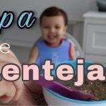 Deliciosa Sopa de Lentejas para niños e incluso para bebés de 10 meses