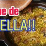 Lo nunca visto: tajine de paella!!! Marruecos y España unidas 🇪🇦❤🇲🇦