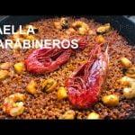 PAELLA DE MARISCO CARABINEROS  Restaurante Vista Ifach  Paellas y Arroces ArturG