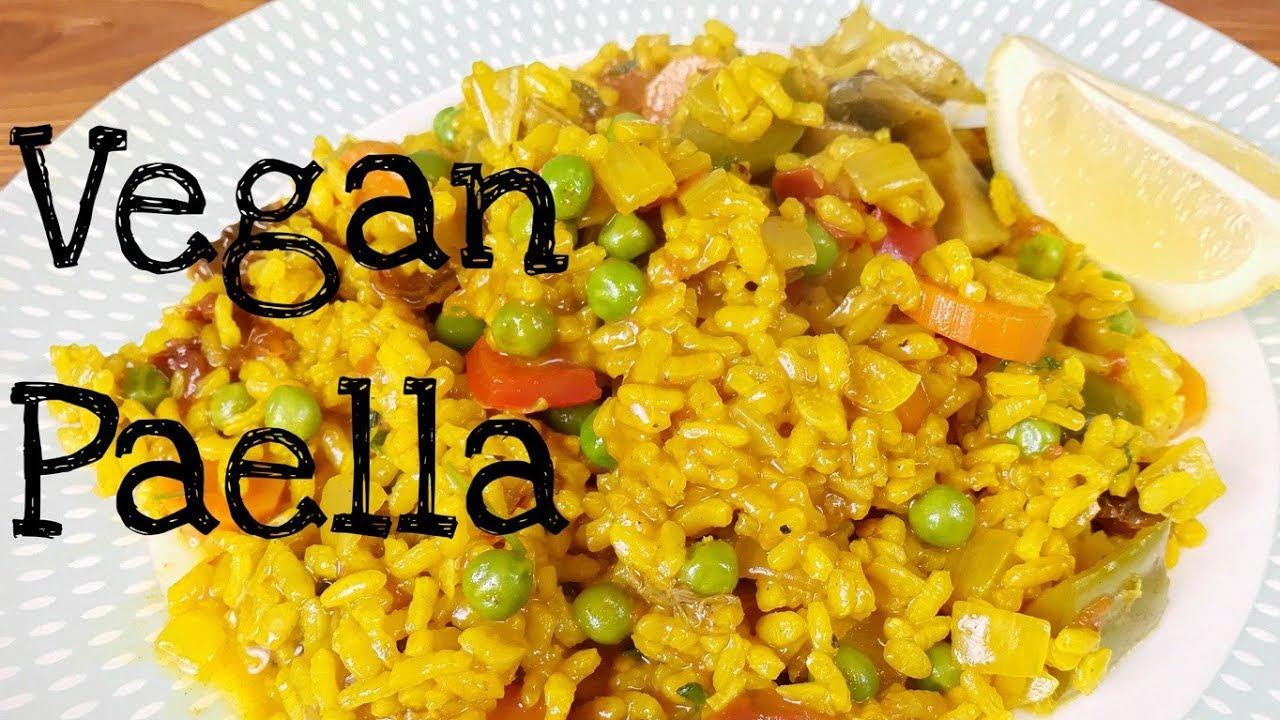 Paella Española Vegana