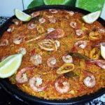 Paella aux fruits de mer oranaise