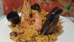 Paella con OLLA G DELUXE