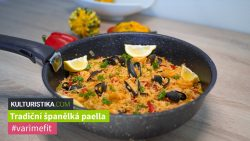 Paella tradicional española con mariscos - #varimefit con KULTURISTIKA.COM