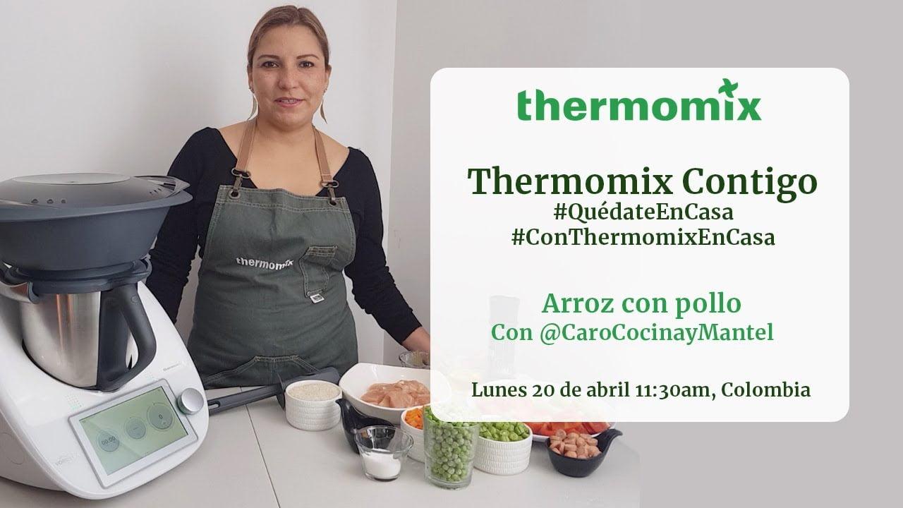 Recetas de consultoras Thermomix #QuédateEnCasa / Arroz con Pollo
