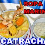 SOPA MARINERA🇭🇳ESTILO CATRACHO||MARISCADA!!